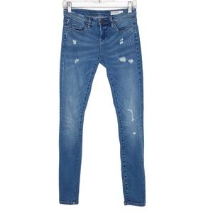 Blank NYC Skinny Classique Jeans Distressed 26x31